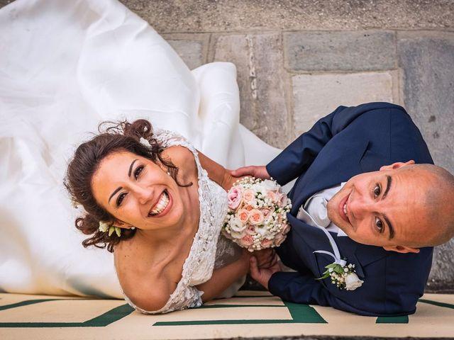 Il matrimonio di Sergio e Sabrina a Besozzo, Varese 63