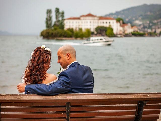 Il matrimonio di Sergio e Sabrina a Besozzo, Varese 69