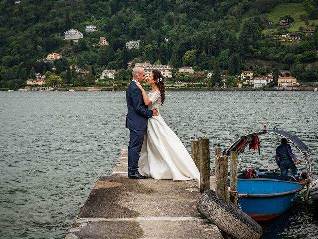 Il matrimonio di Sergio e Sabrina a Besozzo, Varese 70