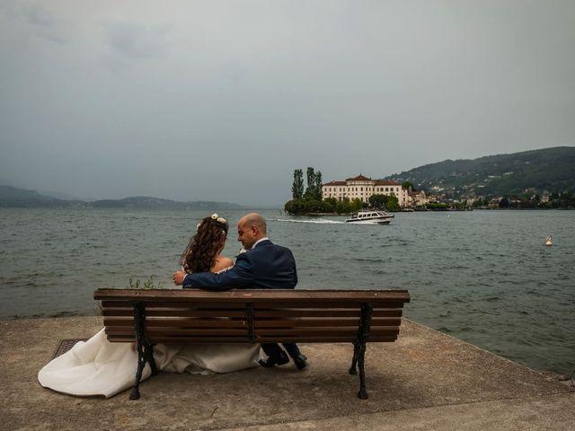 Il matrimonio di Sergio e Sabrina a Besozzo, Varese 71