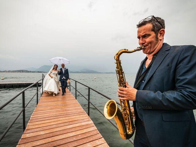 Il matrimonio di Sergio e Sabrina a Besozzo, Varese 72