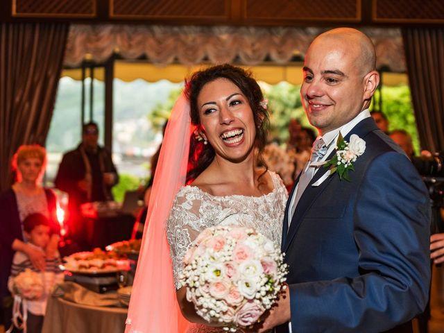 Il matrimonio di Sergio e Sabrina a Besozzo, Varese 75