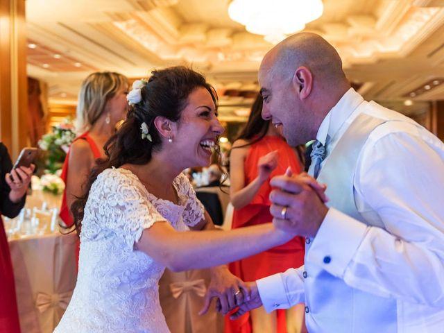 Il matrimonio di Sergio e Sabrina a Besozzo, Varese 83