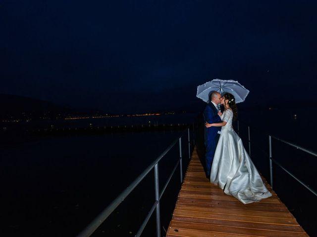 Il matrimonio di Sergio e Sabrina a Besozzo, Varese 91