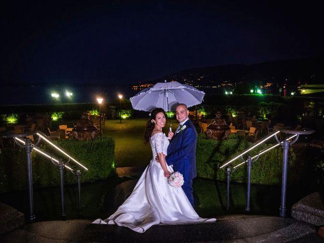 Il matrimonio di Sergio e Sabrina a Besozzo, Varese 92