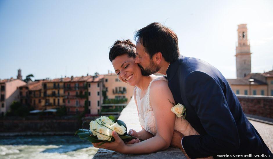 Il matrimonio di Mattia e Laura a Grezzana, Verona