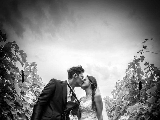 le nozze di Stefano e Veronica