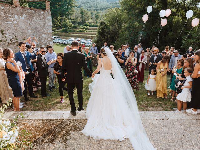 Il matrimonio di Matteo e Francesca a Lucca, Lucca 73
