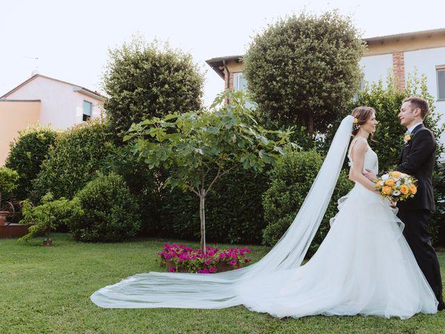 Il matrimonio di Matteo e Francesca a Lucca, Lucca 77