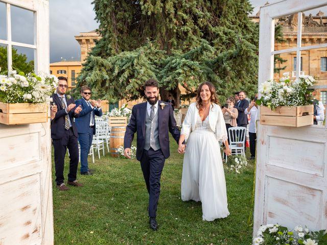 Il matrimonio di Luca e Silvia a Corleone, Palermo 87