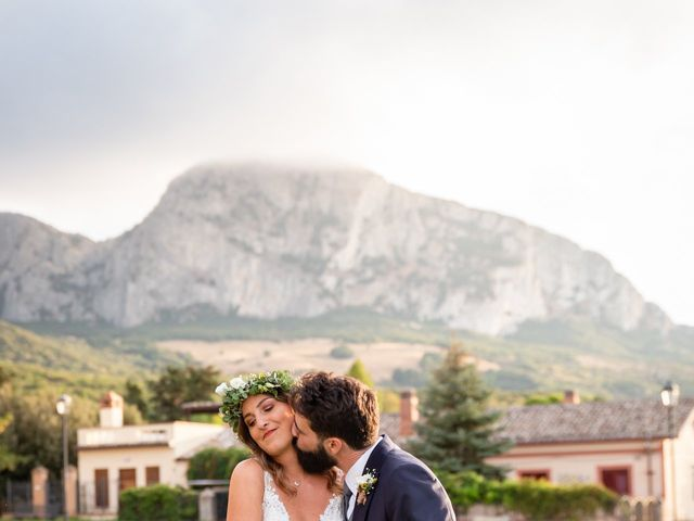 Il matrimonio di Luca e Silvia a Corleone, Palermo 105