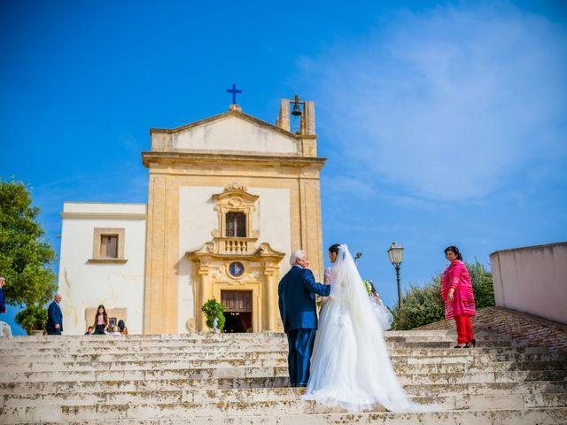 Il matrimonio di Piero e Mariangela a Marsala, Trapani 1