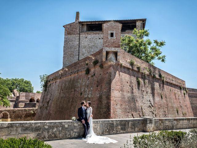 Il matrimonio di Mattia e Ilaria a Grosseto, Grosseto 93