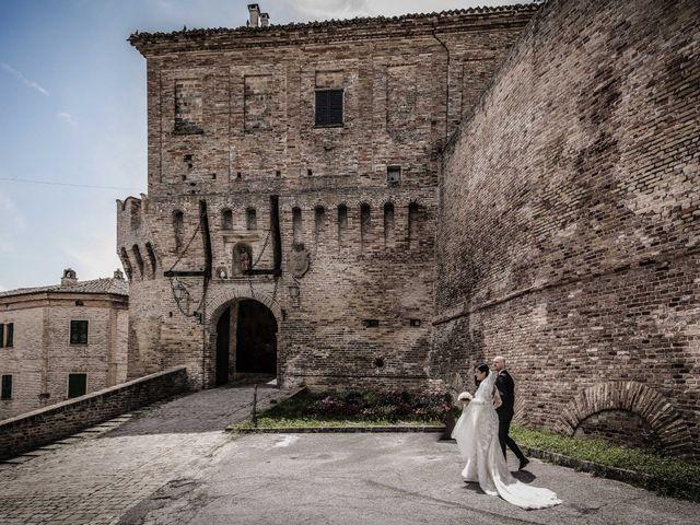 Il matrimonio di Davide e Margherita a Trecastelli, Ancona 29