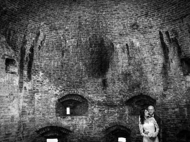Il matrimonio di Davide e Margherita a Trecastelli, Ancona 2