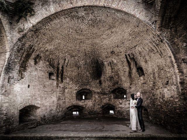 Il matrimonio di Davide e Margherita a Trecastelli, Ancona 30