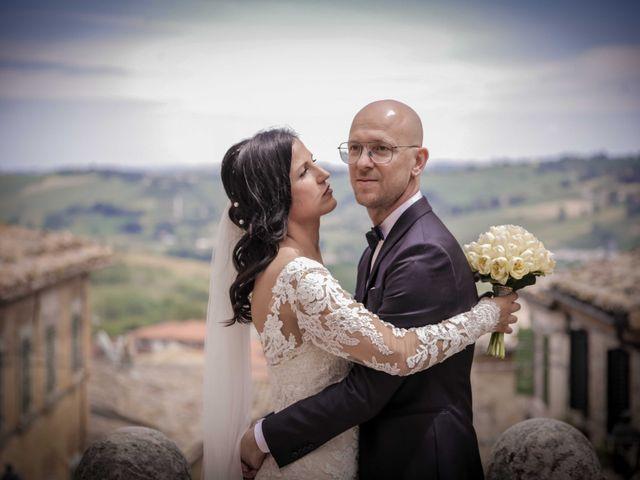 Il matrimonio di Davide e Margherita a Trecastelli, Ancona 34