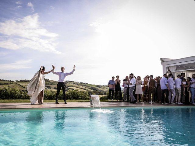 Il matrimonio di Davide e Margherita a Trecastelli, Ancona 42