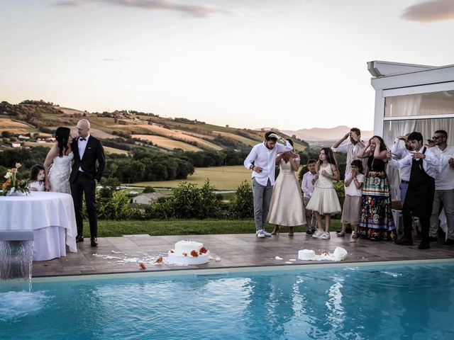 Il matrimonio di Davide e Margherita a Trecastelli, Ancona 44
