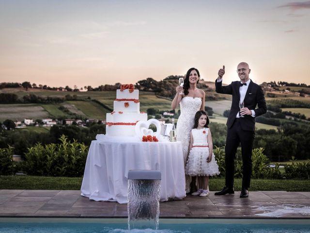 Il matrimonio di Davide e Margherita a Trecastelli, Ancona 45