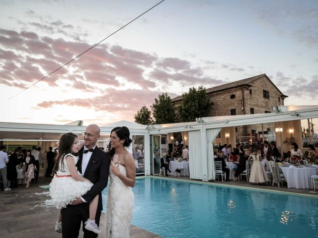 Il matrimonio di Davide e Margherita a Trecastelli, Ancona 48