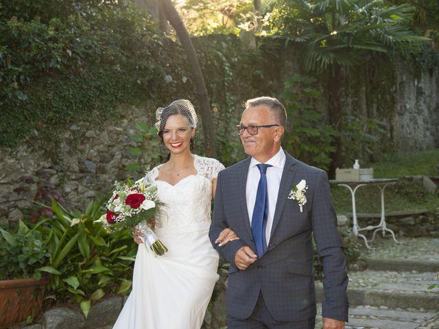 Il matrimonio di Nicola e Clara a Belgirate, Verbania 14