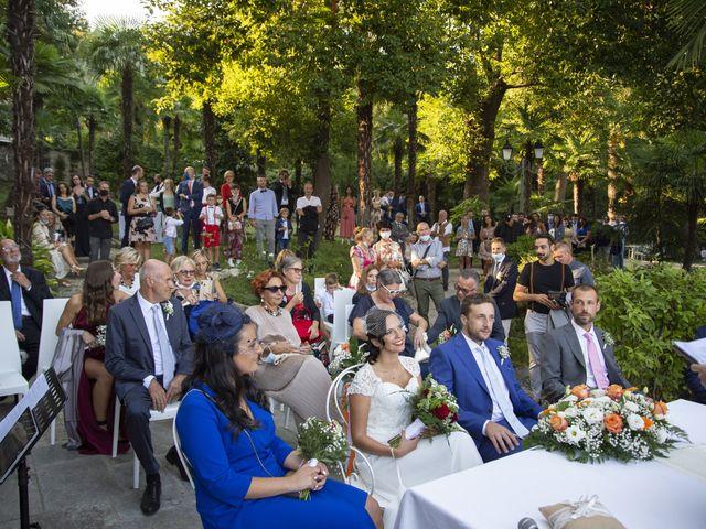 Il matrimonio di Nicola e Clara a Belgirate, Verbania 16