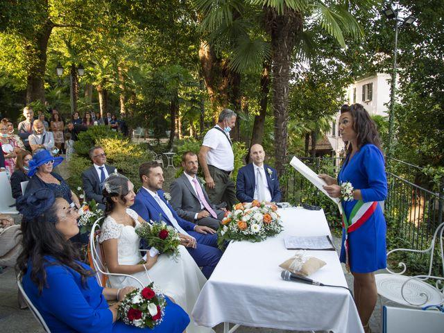 Il matrimonio di Nicola e Clara a Belgirate, Verbania 17
