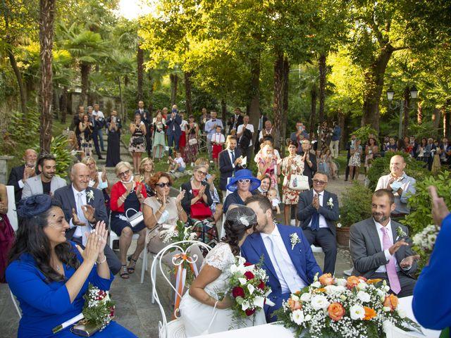 Il matrimonio di Nicola e Clara a Belgirate, Verbania 18
