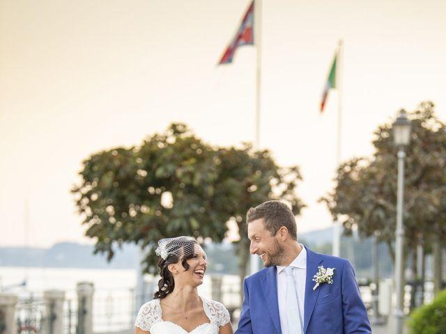 Il matrimonio di Nicola e Clara a Belgirate, Verbania 24