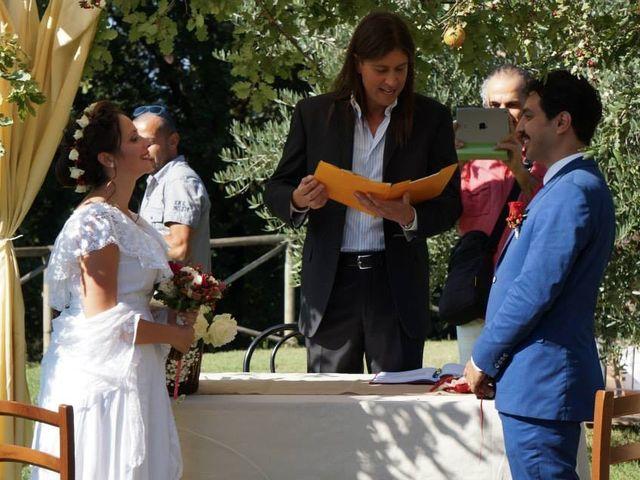 Il matrimonio di Uygur e Elisabetta a Barberino Val d'Elsa, Firenze 8