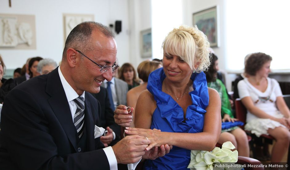 Il matrimonio di Francesco e Daniela a Marnate, Varese
