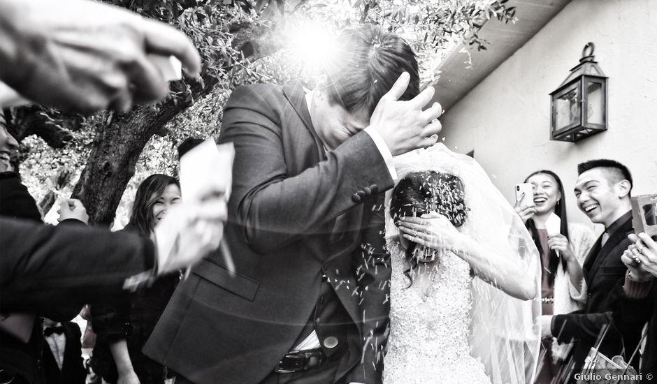 Il matrimonio di Wang Yin e Ding Wei a Chieti, Chieti