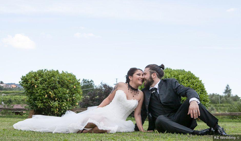 Il matrimonio di Katerine e Davide a Ome, Brescia
