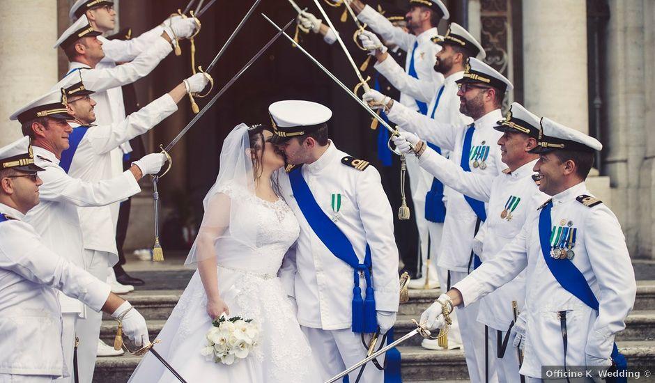Il matrimonio di Lorenzo e Savina a Roma, Roma
