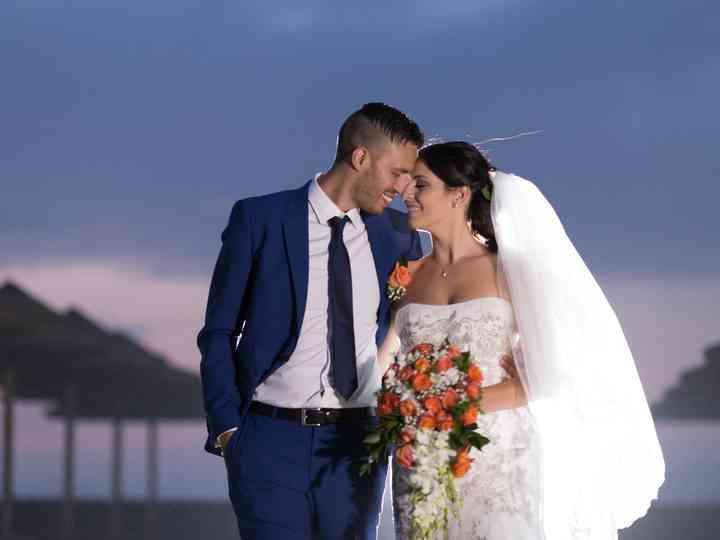 le nozze di Eleonora e Cristian