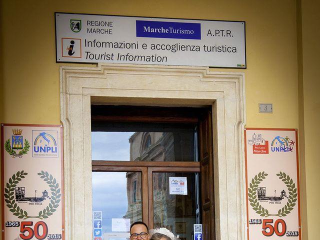Il matrimonio di Riccardo e Pamela a Treia, Macerata 15
