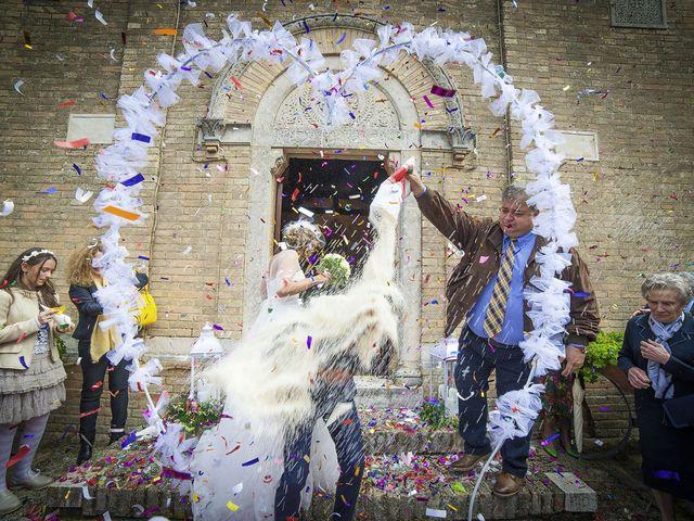 Il matrimonio di Riccardo e Pamela a Treia, Macerata 22