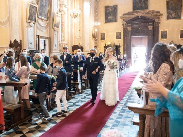 Il matrimonio di Linda e Diego a Passirano, Brescia 12