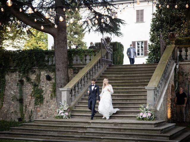 Il matrimonio di Linda e Diego a Passirano, Brescia 21