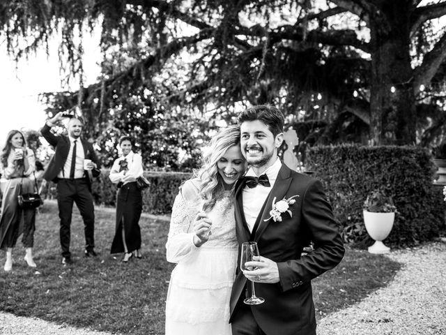 Il matrimonio di Linda e Diego a Passirano, Brescia 25