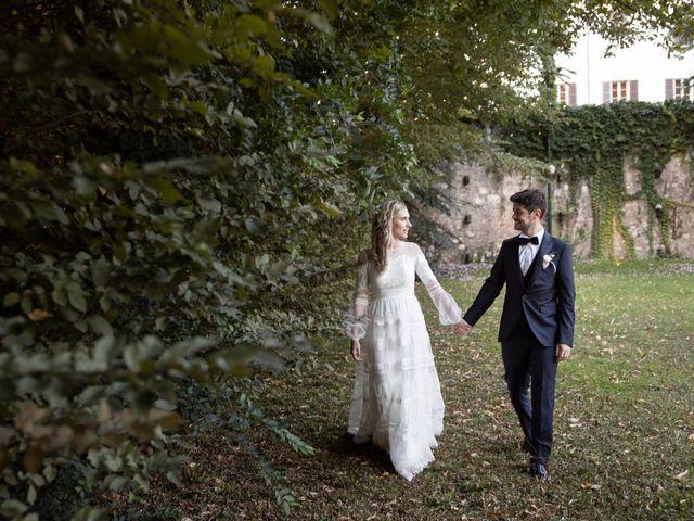 Il matrimonio di Linda e Diego a Passirano, Brescia 33