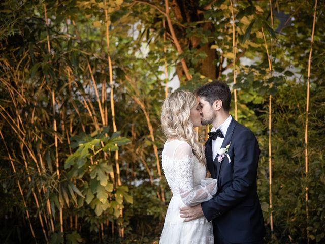 Il matrimonio di Linda e Diego a Passirano, Brescia 35