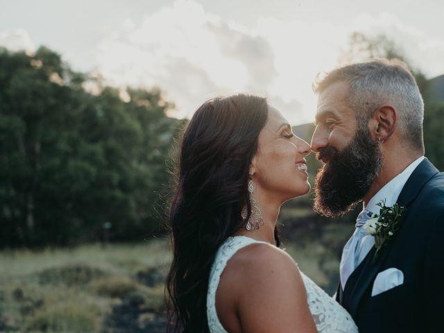 Il matrimonio di Giada e Pierpaolo a Linguaglossa, Catania 31