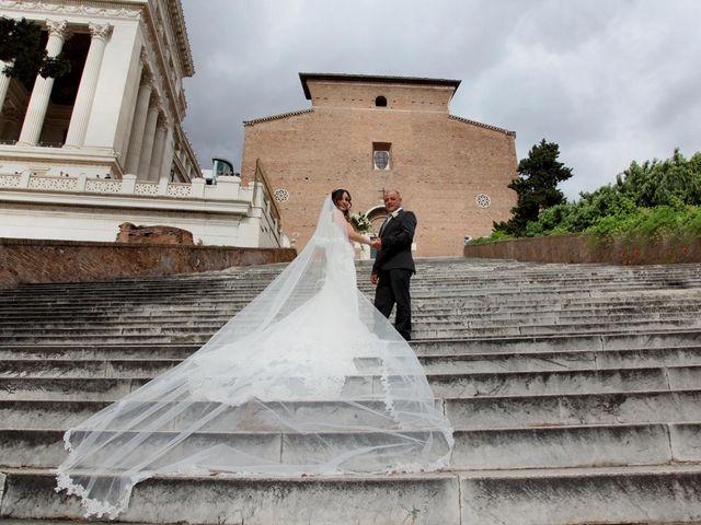 Il matrimonio di Simone e Denise a Roma, Roma 12