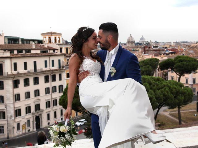Il matrimonio di Simone e Denise a Roma, Roma 18