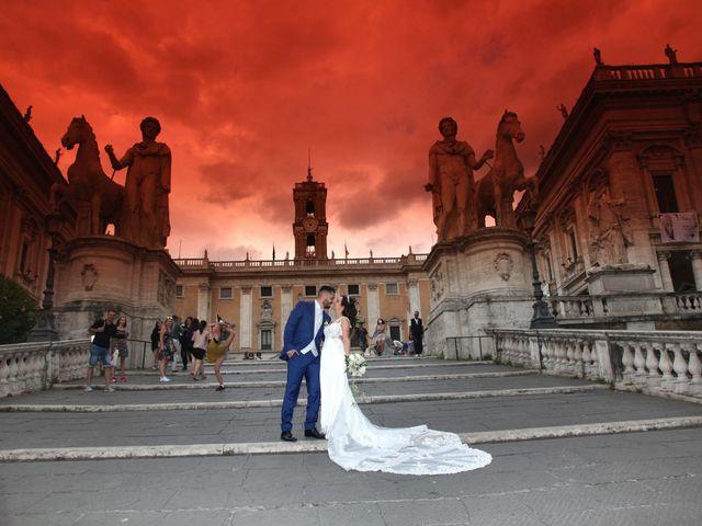 Il matrimonio di Simone e Denise a Roma, Roma 21