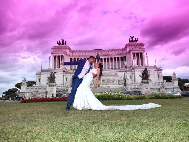 Il matrimonio di Simone e Denise a Roma, Roma 25