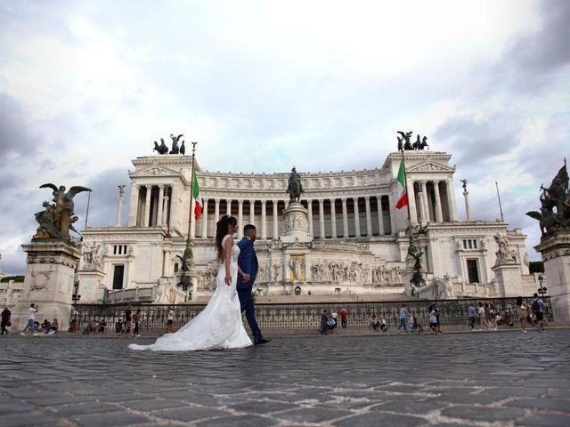 Il matrimonio di Simone e Denise a Roma, Roma 26