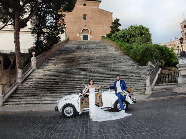 Il matrimonio di Simone e Denise a Roma, Roma 27